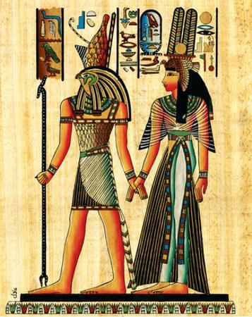 Horus and Nefertiti
