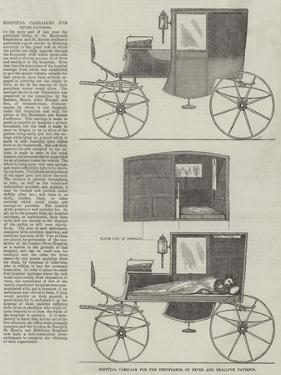 Hospital Carriage for the Conveyance of Fever and Smallpox Patients