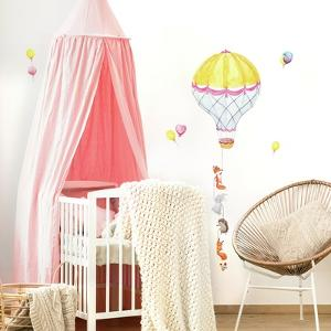 Hot Air Balloon Pals Peel And Stick Giant Wall Decals