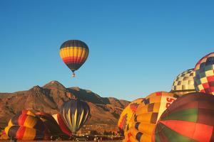 Hot Air Ballooning, Posole Cook-Off, Socorro, New Mexico