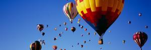 Hot Air Balloons at the International Balloon Festival, Albuquerque, New Mexico, USA