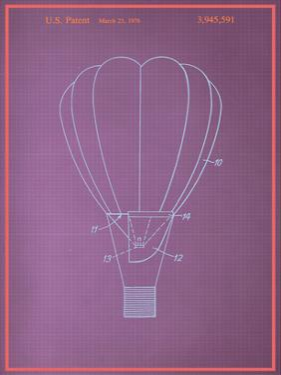 Hot Air Baloon Blueprint