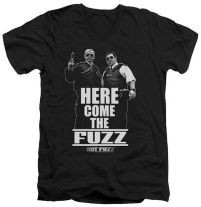 Hot Fuzz - Here Come The Fuzz V-Neck