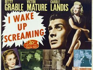 """Hot Spot, 1941, """"I Wake Up Screaming"""" Directed by H. Bruce """"Lucky"""" Humberstone"""