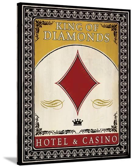 Hotel and Casino--Stretched Canvas Print