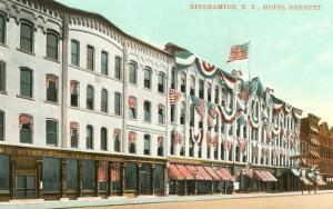 Hotel Bennett, Binghamton, New York