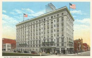 Hotel Brunswick, Lancaster, Pennsylvania