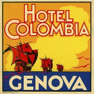 Hotel Colombia, Genova