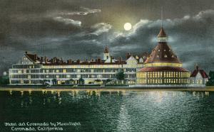 Hotel del Coronado by Moonlight, San Diego, California