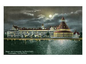 Hotel del Coronado by Moonlight, San Diego, California