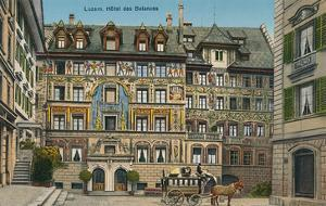 Hotel Des Balances, Lucerne, Switzerland