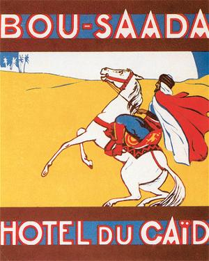 Hotel Du Caid, Bou-Saada