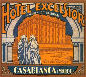 Hotel Excelsior, Casablanca, Maroc