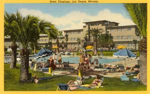 Hotel Flamingo Pool, Las Vegas, Nevada