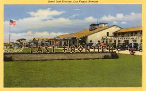 Hotel Last Frontier, Las Vegas, Nevada