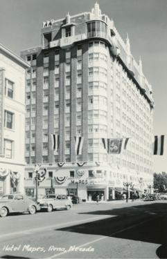 Hotel Mapes, Reno, Nevada