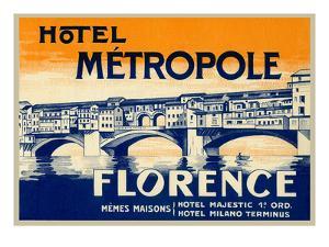 Hotel Metropole, Florence, Italy
