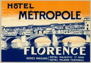 Hotel Metropole, Florence, Italy