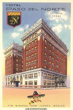Hotel Paso Del Norte, El Paso