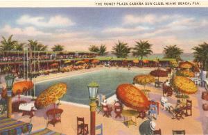 Hotel Pool, Miami Beach, Florida