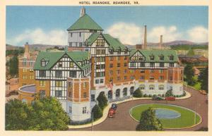 Hotel Roanoke, Roanoke, Virginia