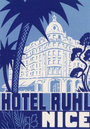 Hotel Ruhl, Nice, France