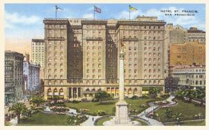 Hotel St. Francis, Union Square, San Francisco, California