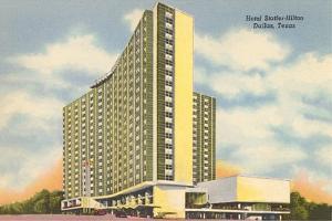 Hotel Statler-Hilton, Dallas