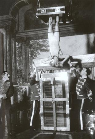 Houdini Upside Down