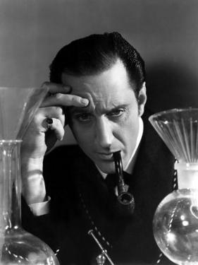Hound of the Baskervilles, Basil Rathbone as Sherlock Holmes, 1939