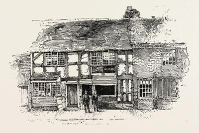 House in Which Shakespeare Was Born as it Was before the Restoration