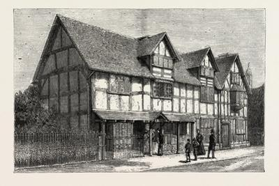 House in Which Shakespeare Was Born as Now Restored