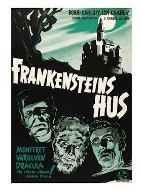 House of Frankenstein, (aka Frankenstein's Hus), 1944