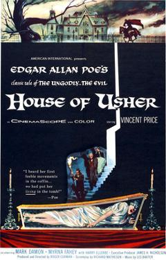 House of Usher, (aka the Fall of the House of Usher), 1960