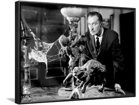 House on Haunted Hill, Vincent Price, 1959--Framed Photo