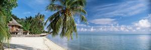 House on the Beach, Matira Beach, Bora Bora, French Polynesia