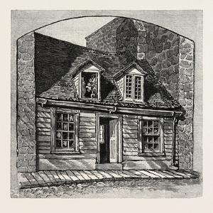 House to Which Montgomery's Body Was Carried, Canada, Nineteenth Century