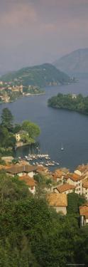 Houses at the Waterfront, Sala Comacina, Lake Como, Italy