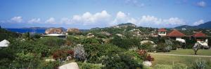 Houses on a Landscape, the Baths, Virgin Gorda, British Virgin Islands