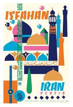 Isfahan, Iran - Persia by Houshang Kazemi