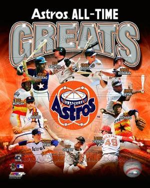 Houston Astros All Time Greats Composite