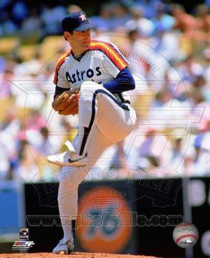 Houston Astros Nolan Ryan 1985 Action