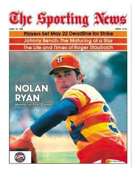 Houston Astros P Nolan Ryan - April 19, 1980