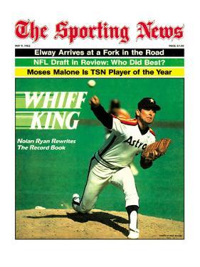 Houston Astros P Nolan Ryan - May 9, 1983