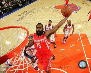Houston Rockets James Harden 2013-14 Action