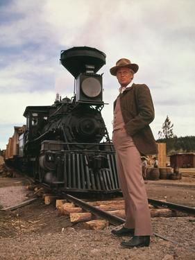 HOW THE WEST WAS WON, 1962 directed by GEORGE MARSHALL (The Railr Richard Widmark (photo)