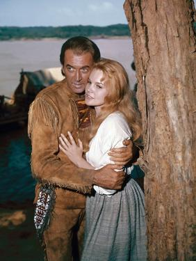 HOW THE WEST WAS WON, 1962 directed by HENRY HATHAWAY (The River) James Stewart and Carroll Baker (