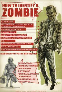 How To Identify A Zombie