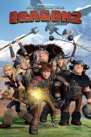 How to train your Dragon 2 - Cast