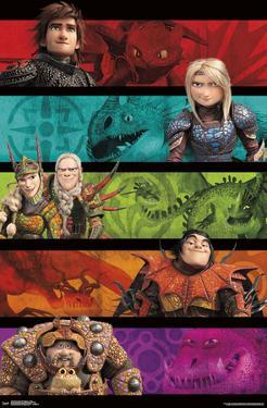 How to Train Your Dragon 3 - Group